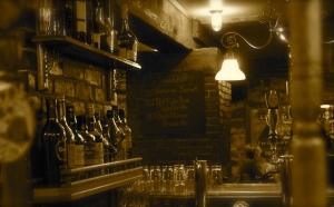 dim neighborhood bar