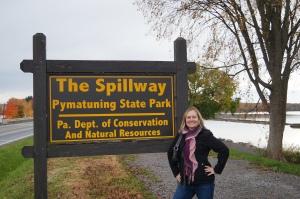spillway sign