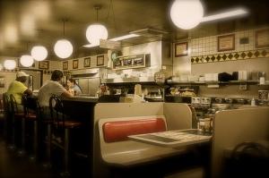 Waffle House Interior