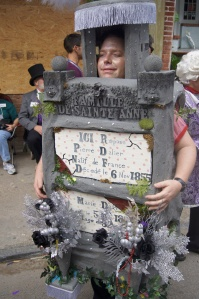 mardi gras costume tomb